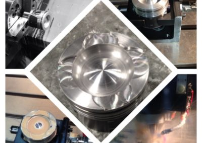 Custom Diesel Piston Machining