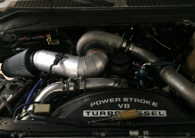 Custom Powerstroke Intake