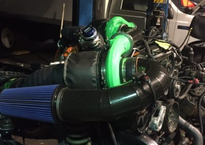 Turbo Install Powerstroke Ford Diesel