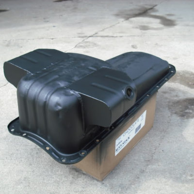 modified_oil_pan_with_trap_doors_toyota